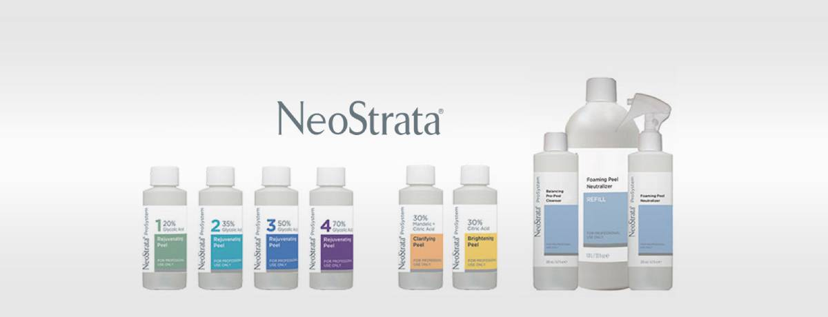 Neostrata chemical peeling face exfoliation